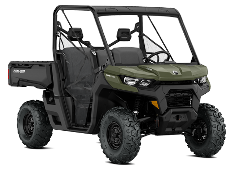 Built extra tough to take you way beyond the daily grind. Defender is the most capable Can-Am ever: on worksites, loaded for hunting trips,  on the farm and anywhere you need to get the job done well.