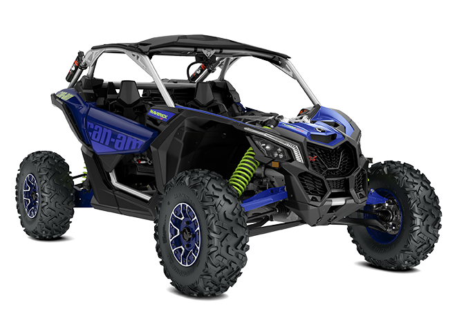 The Maverick X3 was not built for leisurely drives in the countryside. It was built to make your eyeballs rattle in your head. From its aggressive future-forward design to its Ergo-Lok cockpit that puts the driver at the heart of the vehicle.